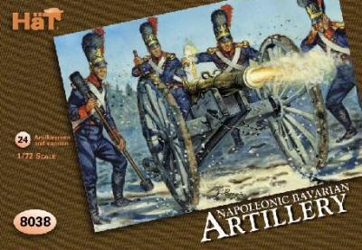 8038 - Artillerie bavaroise 1/72