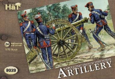 8039 - Artillerie à cheval française 1/72