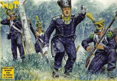8042 - Infanterie légère française 1/72