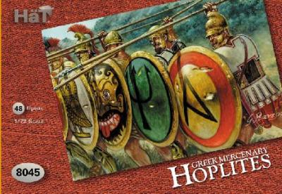 8045 - Greek Mercenary Hoplites 1/72