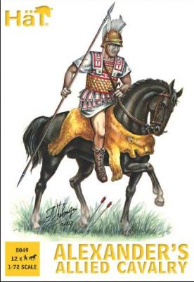 8049 - Cavalerie alliée d'Alexandre 1/72
