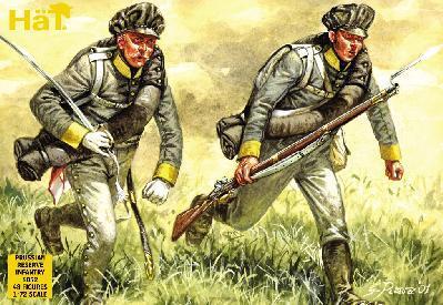 8052 - Infanterie de réserve prussienne 1/72