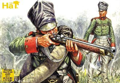 8053 - Prussian Jäger and Volunteer Jäger 1/72