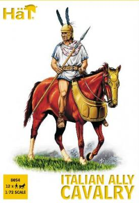 8054 - Punic Wars Italian Ally Cavalry 1/72