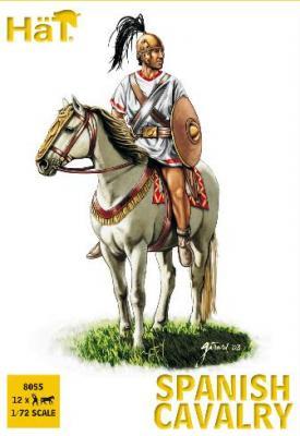 8055 - Cavalerie espagnole guerres puniques 1/72