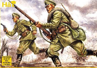 8061 - Infanterie russe WW1 1/72