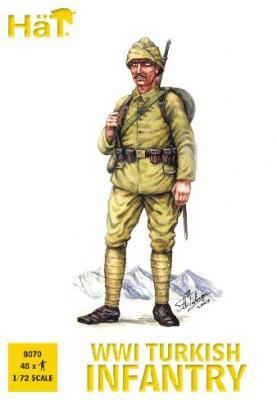 8070 - Infanterie turque WW1 1/72