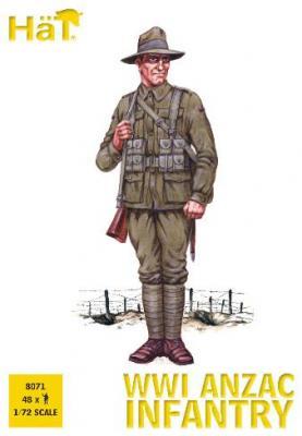 8071 - WWI ANZAC Infantry 1/72