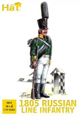8072 - Infanterie de ligne russe 1805 1/72