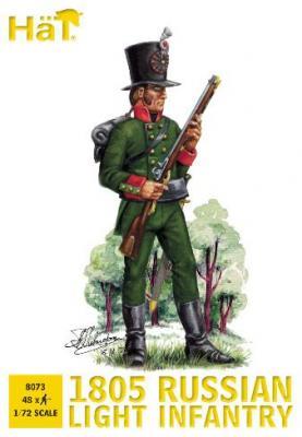 8073 - Infanterie légère russe 1805 1/72