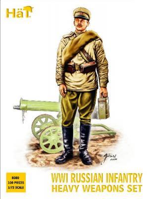 8080 - WWI Russian Infantry Heavy Weapons Set 1/72