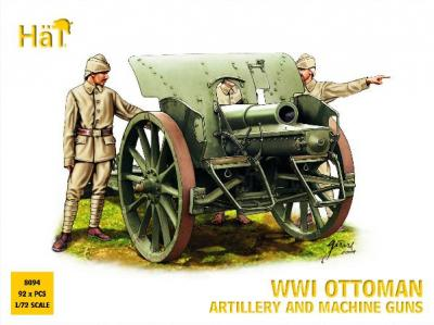 8094 - WWI Ottoman Artillery and Machine Guns 1/72