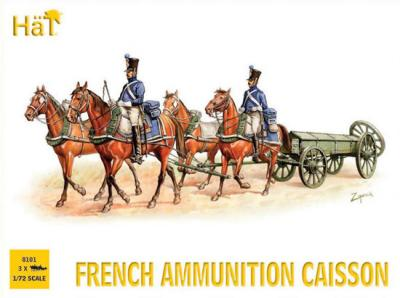 8101 - Napoleonic French Ammunition Caisson 1/72