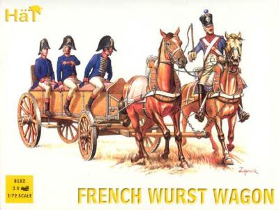 8102 - Napoleonic French Wurst Wagon 1/72
