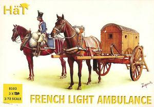 8103 - Napoleonic French Light Ambulance 1/72