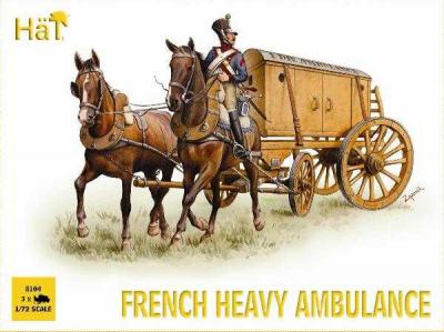 8104 - Napoleonic French Heavy Ambulance 1/72