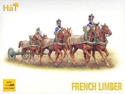 8105 - Napoleonic French Limber 1/72