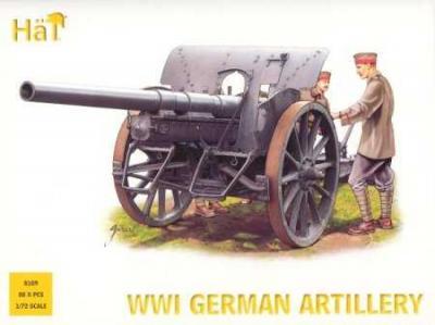 8109 - Artillerie allemande WW1 1/72