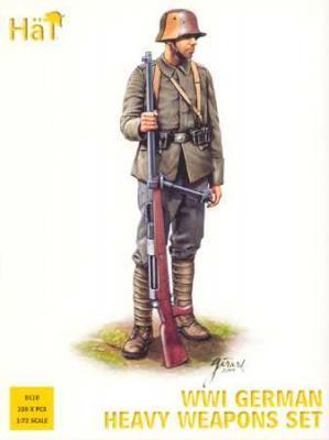 8110 - WWI German Heavy Weapons Set 1/72