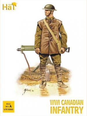 8111 - Infanterie canadienne WW1 1/72