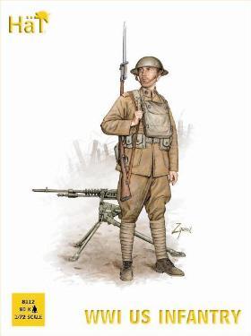 8112 - Infanterie US WW1 1/72