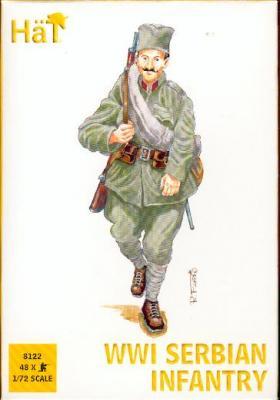 8122 - Infanterie serbe WW1 1/72