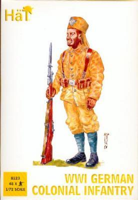 8123 - WWI German Colonial Infantry 1/72