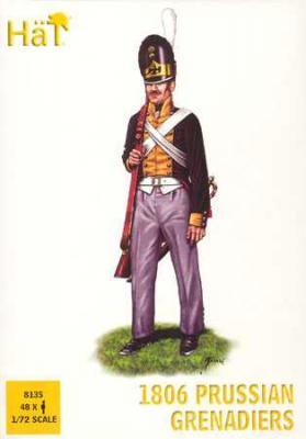 8135 - Grenadiers prussiens 1806 1/72