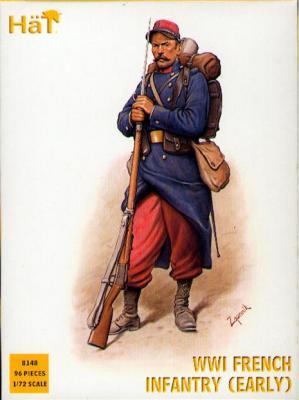 8148 - Infanterie française WW1 (début de guerre) 1/72