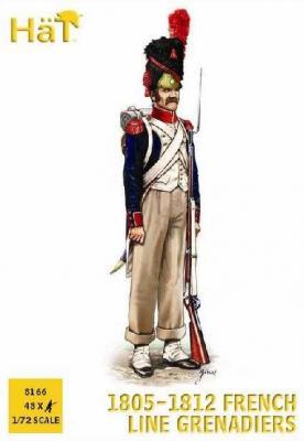 8166 - 1805-1812 Grenadiers de la ligne 1/72