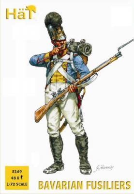 8169 - Fusiliers bavarois 1/72