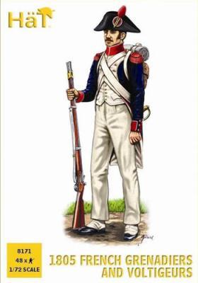 8171 - Grenadiers et voltigeurs français 1805 1/72