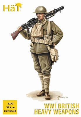 8177 - Armes lourdes anglaises WW1 1/72