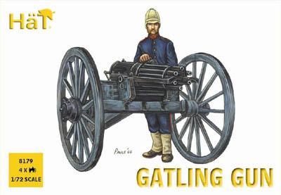 8179 - Gatling Gun 1/72