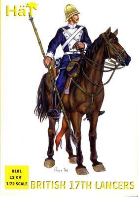 8181 - British 17th Lancers 1/72