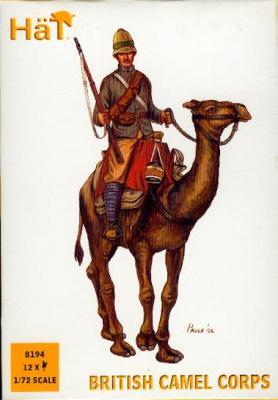 8194 - British Camel Corps 1/72