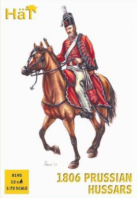 8195 - Hussards prussiens 1806 1/72
