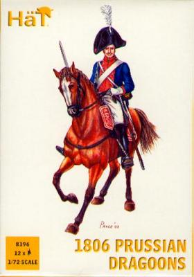 8196 - Dragons prussiens 1806 1/72