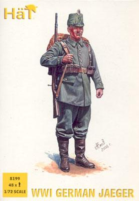 8199 - Chasseurs allemands WW1 1/72