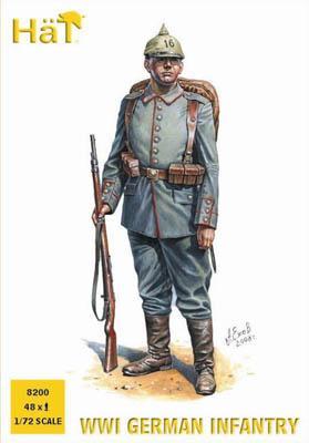 8200 - Infanterie allemande WW1 1/72