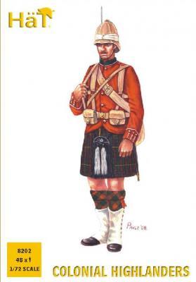 8202 - Highlanders (Colonial) 1/72
