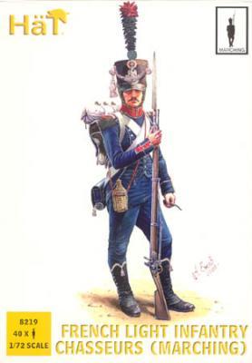 8219 - Infanterie légère française Chasseurs (Marche) 1/72