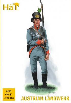 8233 - Landwehr autrichienne 1/72