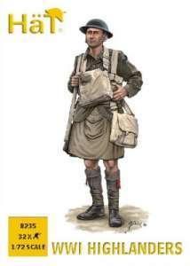 8235 - Highlanders WW1 1/72