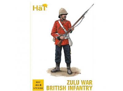 8237 - Infanterie britannique guerre zouloue 1/72