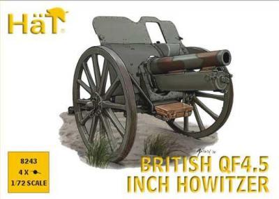 8243 - British QF 4.5 Inch Howitzer WW1 1/72
