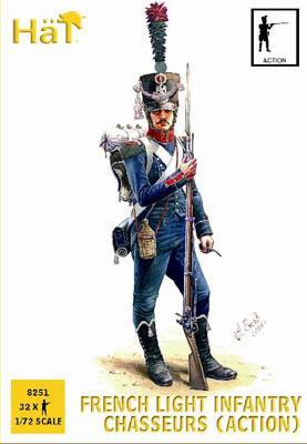 8251 - Infanterie légère française chasseurs (Action) 1/72