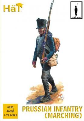8253 - Infanterie prussienne napoléonienne (Marche) 1/72