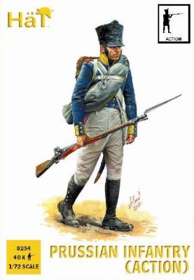 8254 - Infanterie prussienne napoléonienne (Action) 1/72