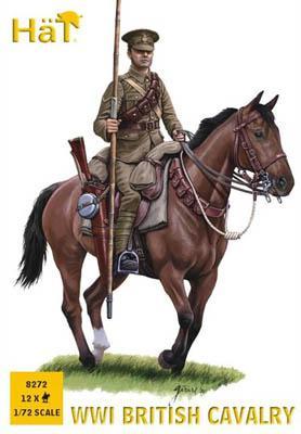 8272 - Cavalerie Anglaise WW1 1/72